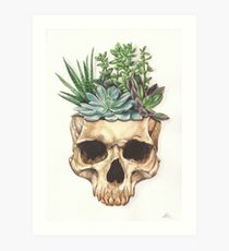 'From Death Grows Life'  Art Print
