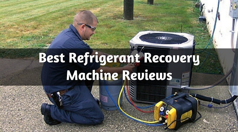 best hvac recovery machine