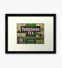 I love Yorkshire Framed Print