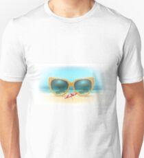 Vacation Summer Concept Illustration Unisex T-Shirt