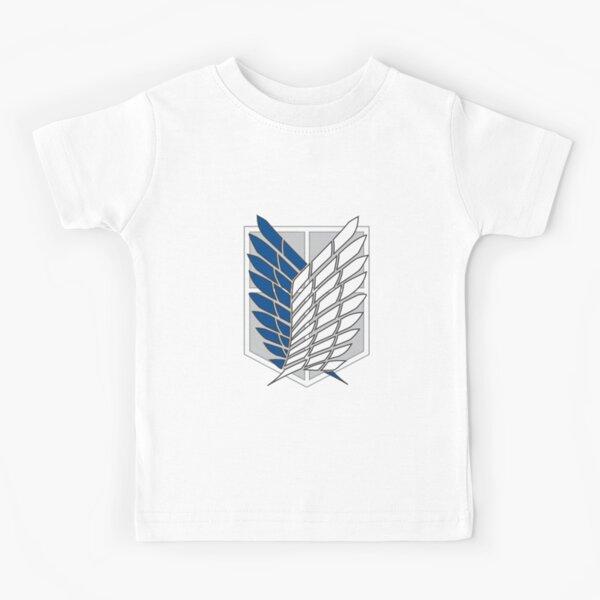 Shingeki no Kyojin - Exploración Camiseta para niños