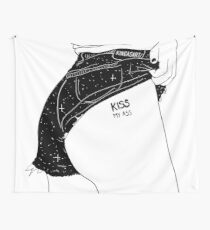 Kiss My A** Wall Tapestry