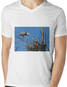 Great Blue Heron with Babies - Ottawa, Ontario T-Shirt