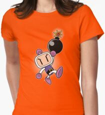 BOMBER JUMP Womens Fitted T-Shirt