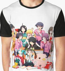 Monogatari Series Graphic T-Shirt