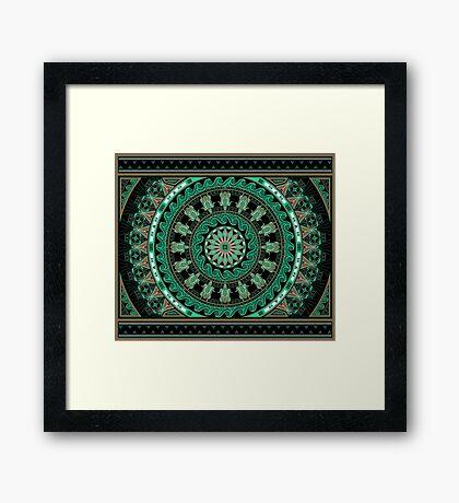 The Turtle (Keya)  Framed Print