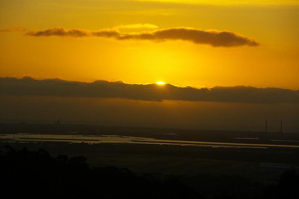 Port Sunset by Deidre Cripwell