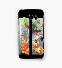 pokemon 3rd gen starters megaevolved cool design Samsung Galaxy Case/Skin