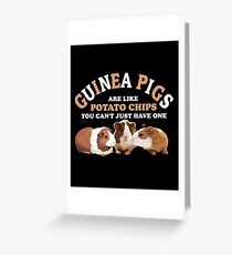 You Cant Just Have One Guinea Pig Shirt Greeting Card