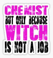 Chemist Witch Sticker