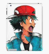 XY Ash Ketchum / Satoshi iPad Case/Skin