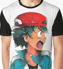 XY Ash Ketchum / Satoshi Graphic T-Shirt