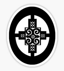 AFRICAN SUPER SYMBOL BY KCODE (INTELLIGENCE-STRNGTH-CREATIVITY-COMMITTMENT  Sticker