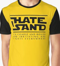 For sand haters (black) Graphic T-Shirt