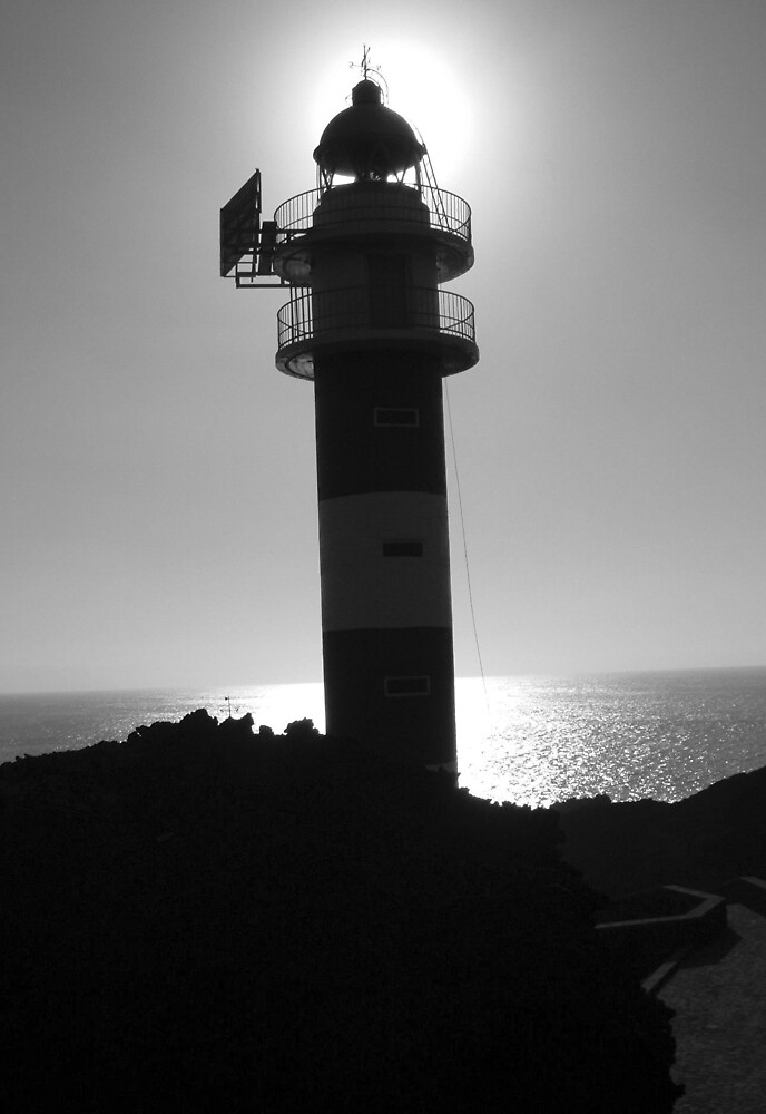 Lighthouse Silhouette by pgilmour2002