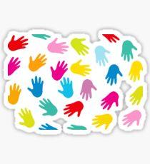 Les mains Sticker