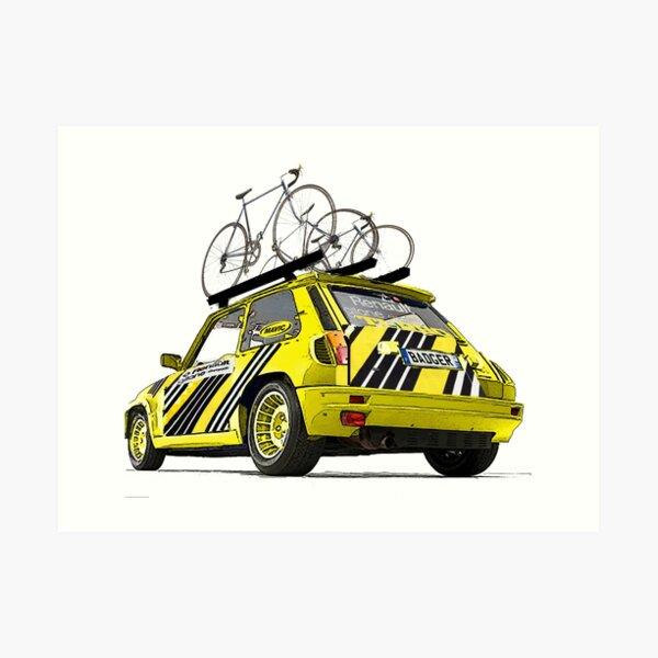 Renault Elf Badger Art Print
