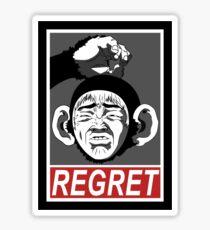 REGRET Sticker