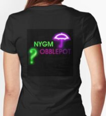 NYGMobblepot ship Womens Fitted T-Shirt