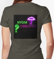 NYGMobblepot ship Womens Fitted T-Shirt