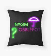 NYGMobblepot ship Throw Pillow