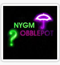 NYGMobblepot ship Sticker