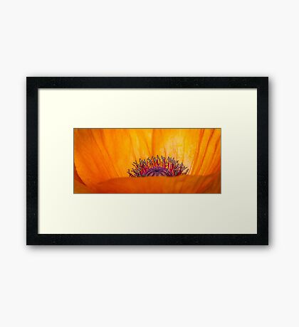 """The """"City"""" Within Framed Print"""