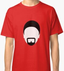 The Edge - digital minimalist portrait Classic T-Shirt