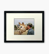 Zoo Keeper Framed Print