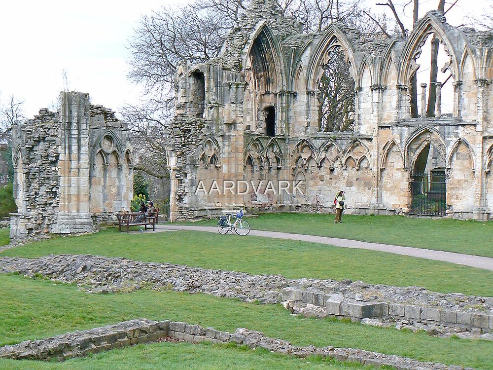 Ruins Of York's St. Mary's Abbey. by AARDVARK