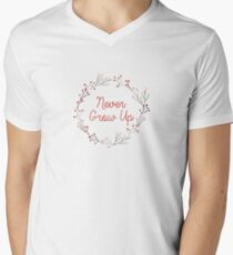 Never Grow Up | Peter Pan | Movie Quote T-Shirt