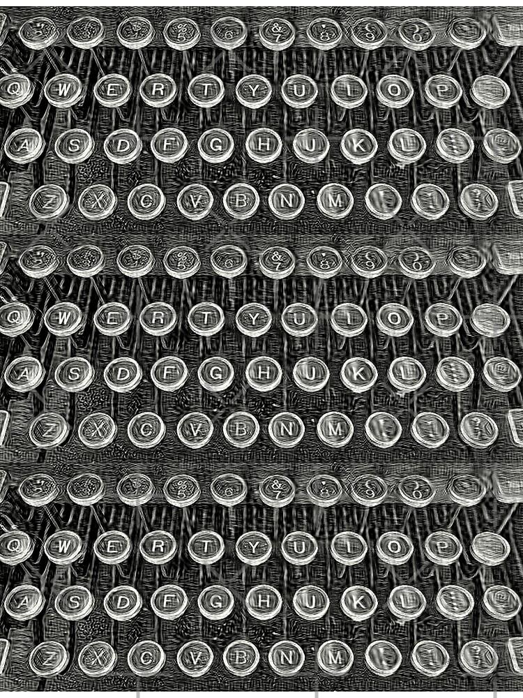 Typewriter Keys-Vintage Typewriter-Royal Typewriter-Writer Pearl S. Buck by Matlgirl