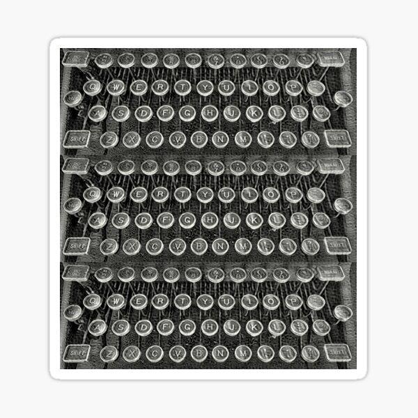 Typewriter Keys-Vintage Typewriter-Royal Typewriter-Writer Pearl S. Buck Sticker