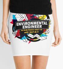 ENVIRONMENTAL ENGINEER - NO BODY KNOWS Mini Skirt
