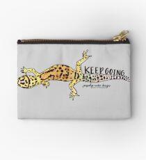 Keep Going Gecko  Studio Pouch