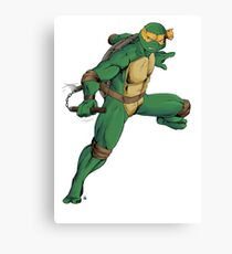 Mikey - IDW inspired Canvas Print