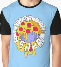 Pizza is Better Than Senpai! Graphic T-Shirt