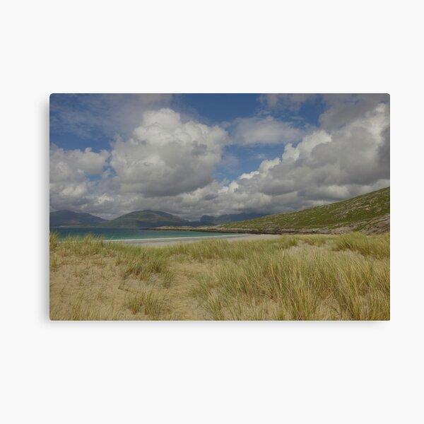 Luskentyre Sands, Isle of Harris, Scotland. Canvas Print