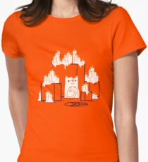 Kitty Cat Cult Womens Fitted T-Shirt
