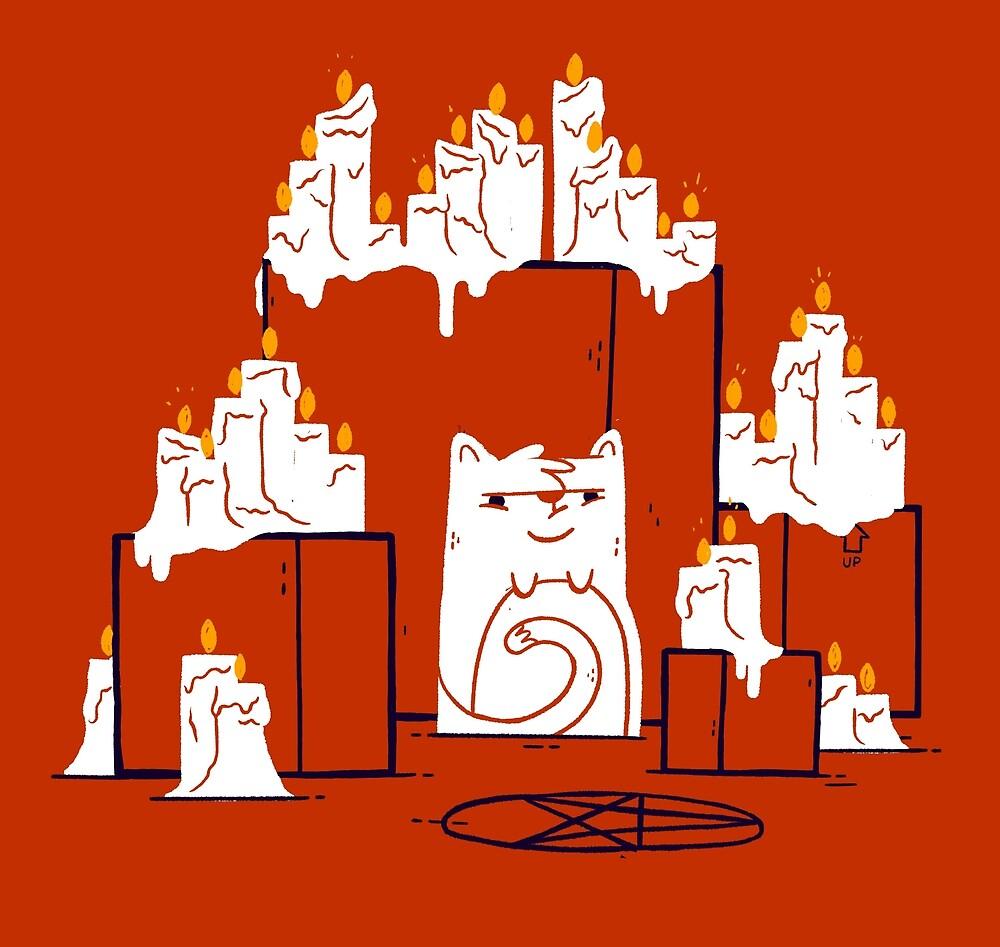 Kitty Cat Cult by Blake Stevenson