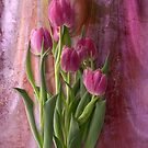 Tulip Tapestry by Judy Olson