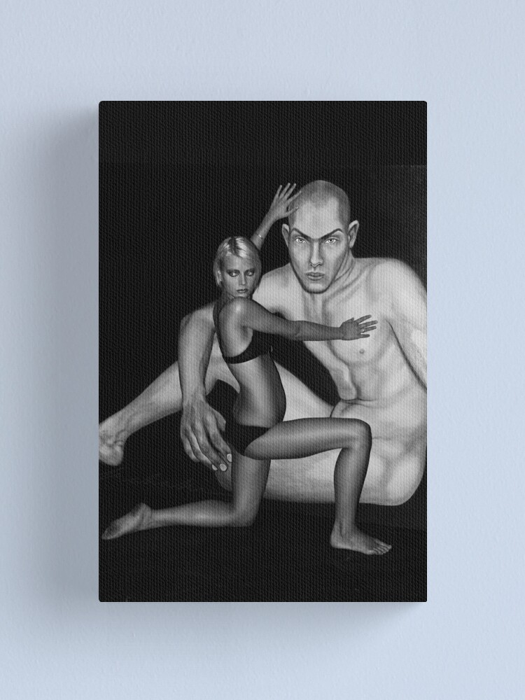 Alternate view of Embrace Canvas Print