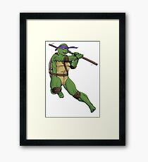 Don - IDW inspired Framed Print