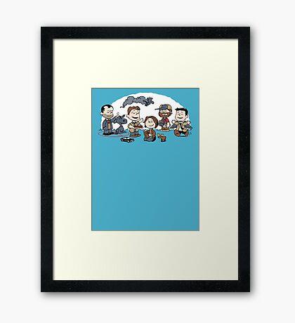 Supernutural Framed Print