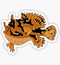 Sargassum Frogfish Sticker