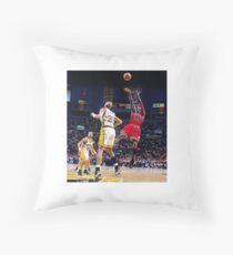 Michael Jordan Fadeaway Throw Pillow
