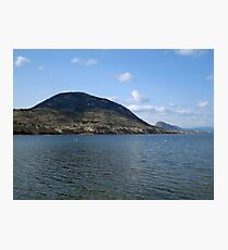 Okanogan Lake Photographic Print