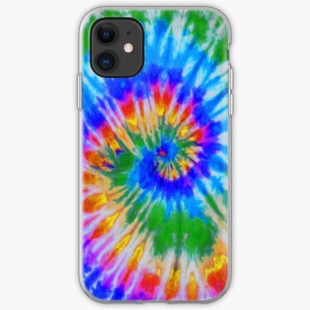 Tie Dye 4 iPhone Case & Cover