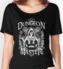 Dungeon Master (Female) - White Women's Relaxed Fit T-Shirt