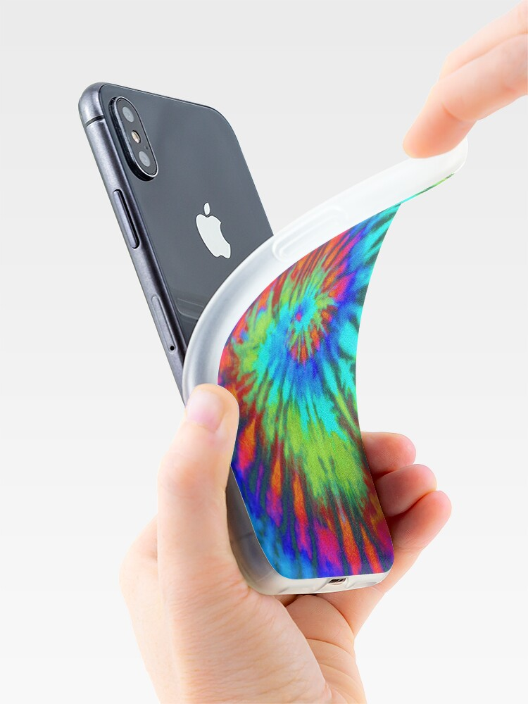 Alternate view of Tie Dye 5 iPhone Case & Cover